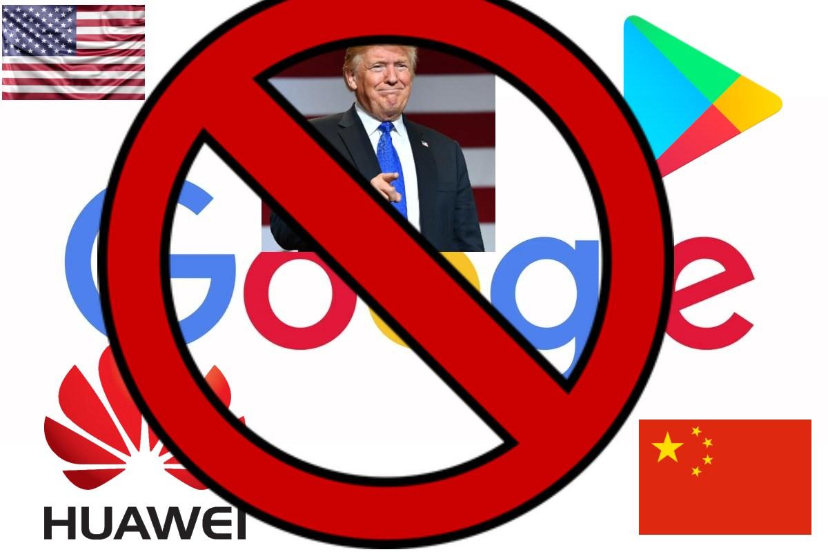 Google suspende a Huawei la licencia Android por Trump