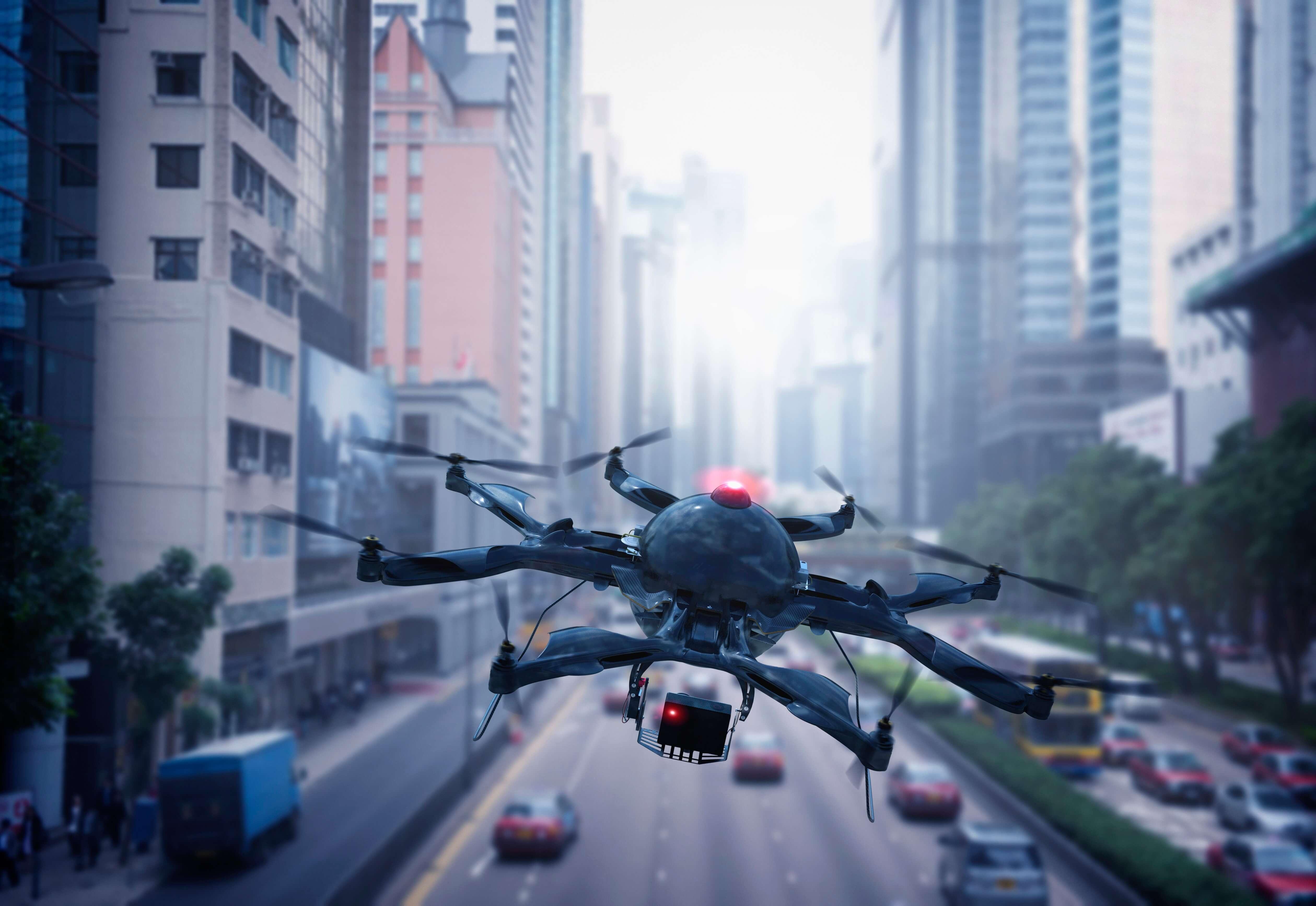 Drones para el envío de medicamentos para los hospitales