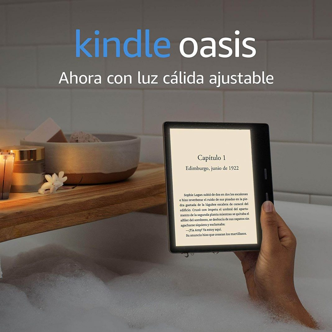 Kindle Oasis es lo nuevo de Amazon para leer