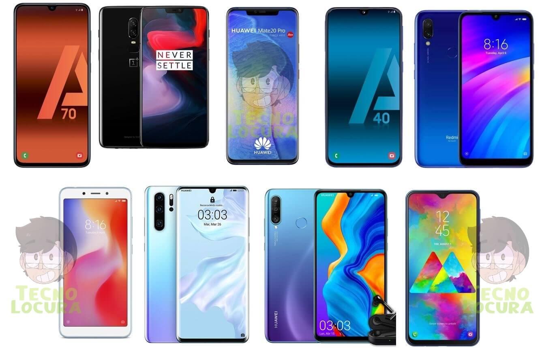 Las mejores OFERTAS en smartphones de 2019