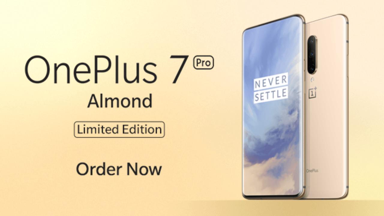 OnePlus 7 Pro Almond - edición limitada