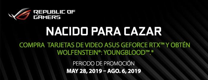 Wolfenstein Youngblood GRATIS con tu Tarjeta ASUS RTX