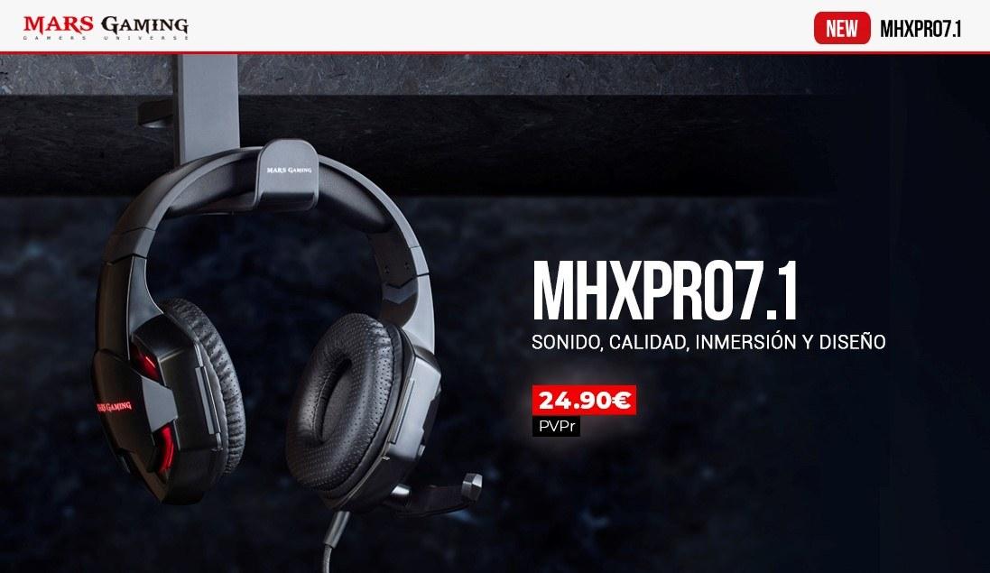 Auriculares MHX PRO 7.1