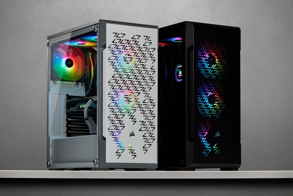 CORSAIR iCUE 220T RGB Airflow y iCUE SP RGB PRO