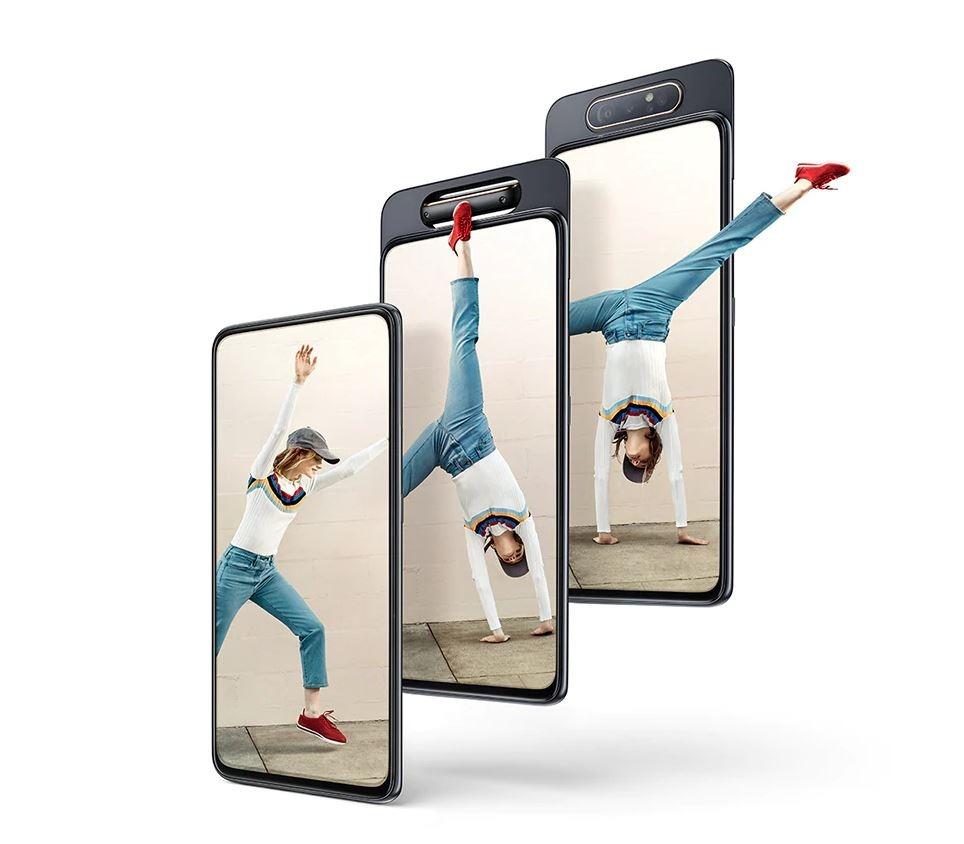 La Generación Z de Samsung viene de la mano del A80