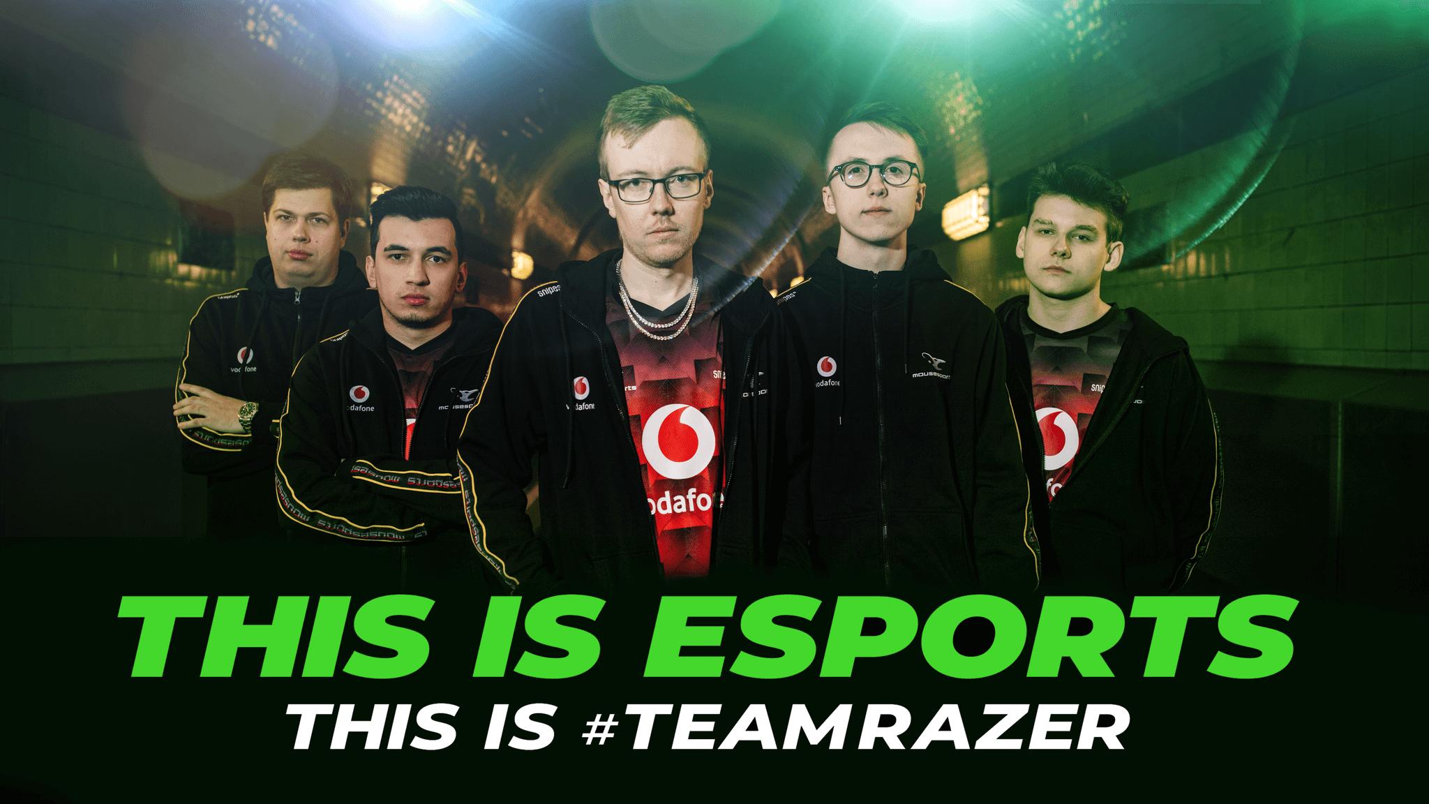 Mousesports, el Esports alemán se une a Team Razer