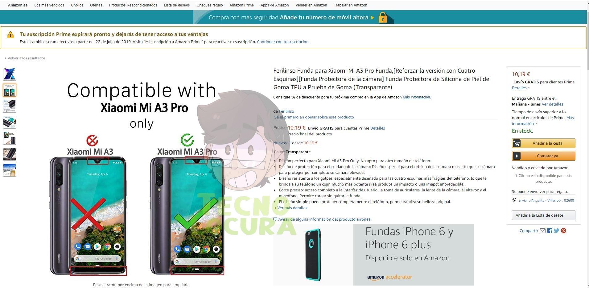 Xiaomi Mi A3 Pro aparece en Amazon, ¿será verdad?