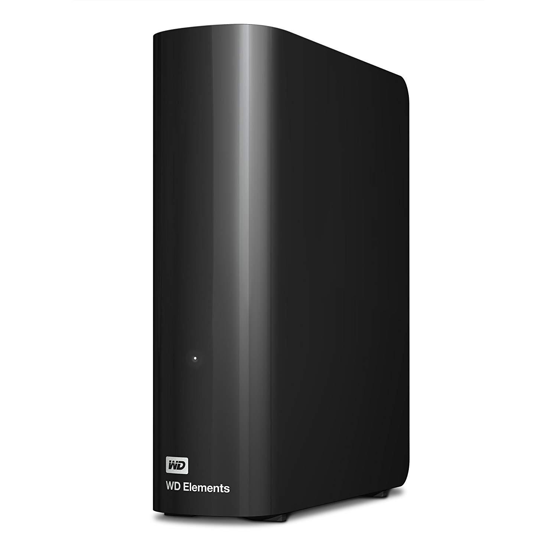 4TB por menos de 100€. WD Elements Desktop - Disco duro externo de sobremesa de color negro.
