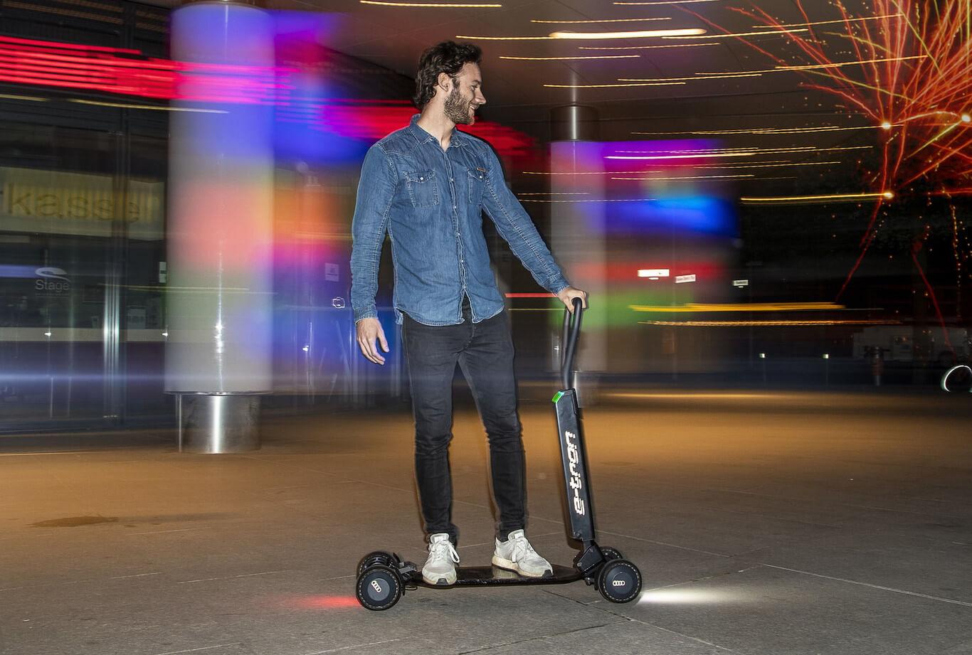 El nuevo scooter de Audi podría resolver un gran problema...