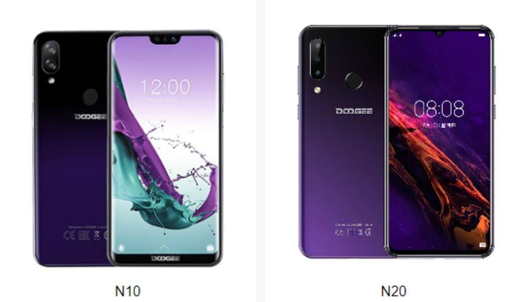 Doogee N20 vs N10
