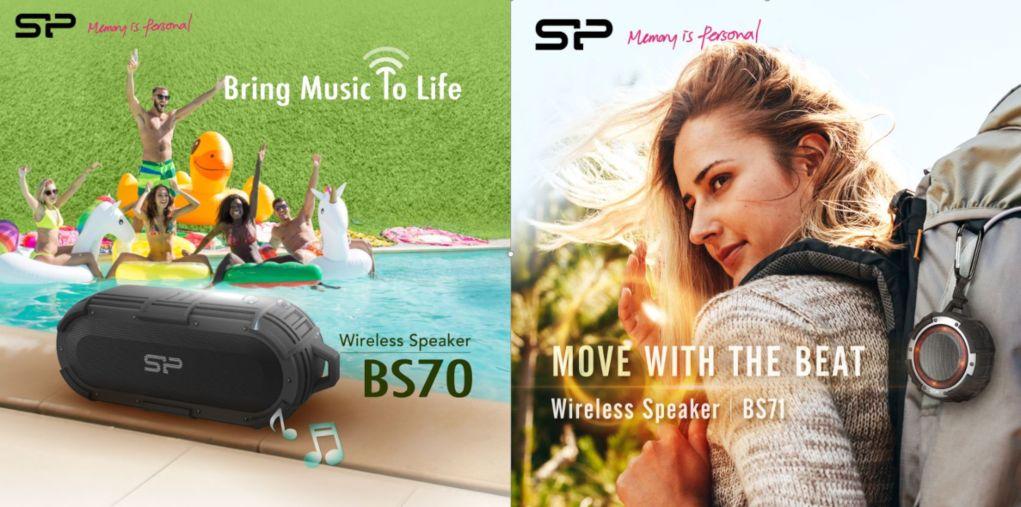 SP BS70 y BS71, altavoces inalámbricos con IPX8