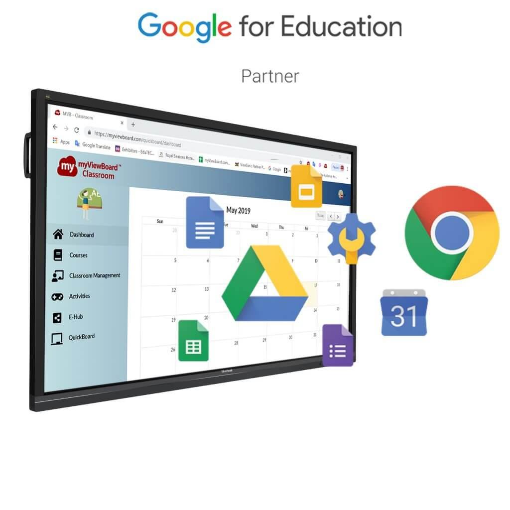 ViewSonic se convierte en socio oficial de Google for Education