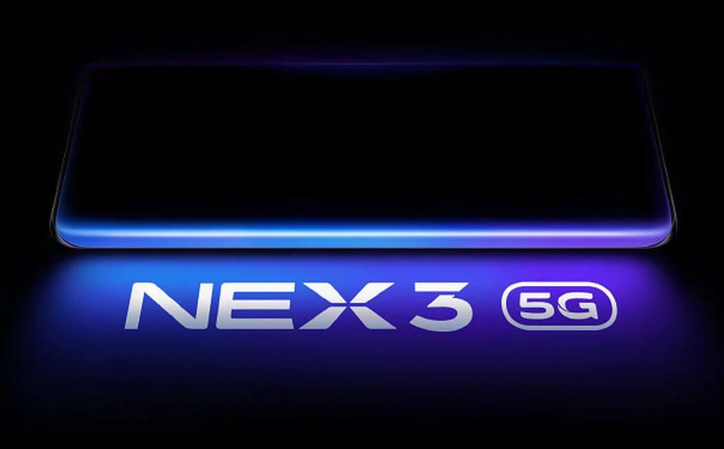 Vivo NEX 3 y su pantalla en cascada