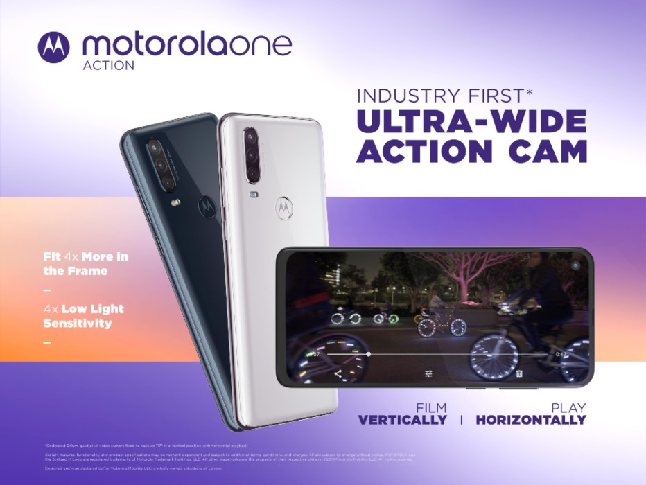 motorola one action primera cámara de acción ultra gran angular