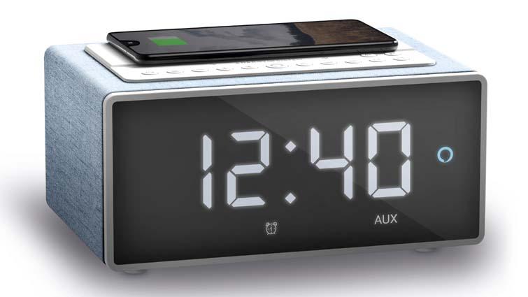 Smart Speaker Wake Up, primer altavoz despertador con Alexa