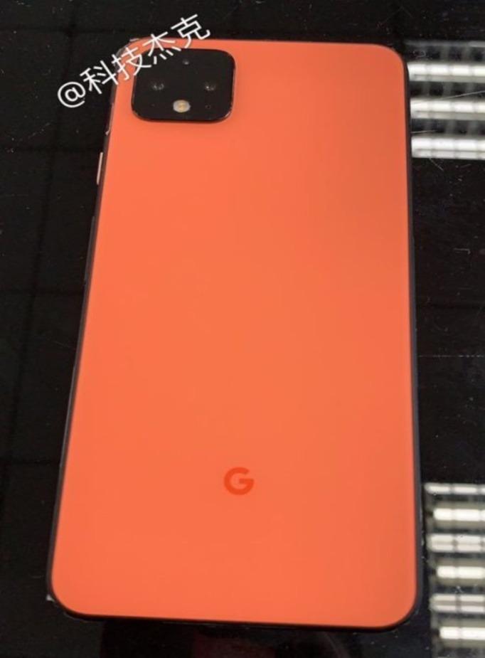 Google Pixel 4 XL se filtra en una opción de color Coral