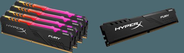 HyperX amplía su línea de memorias FURY DDR4 RGB - tecnolocura