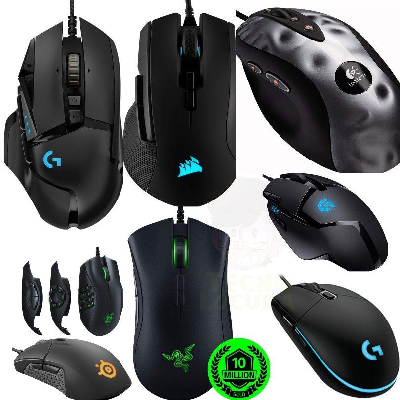 Los mejores ratones gaming hasta 2019