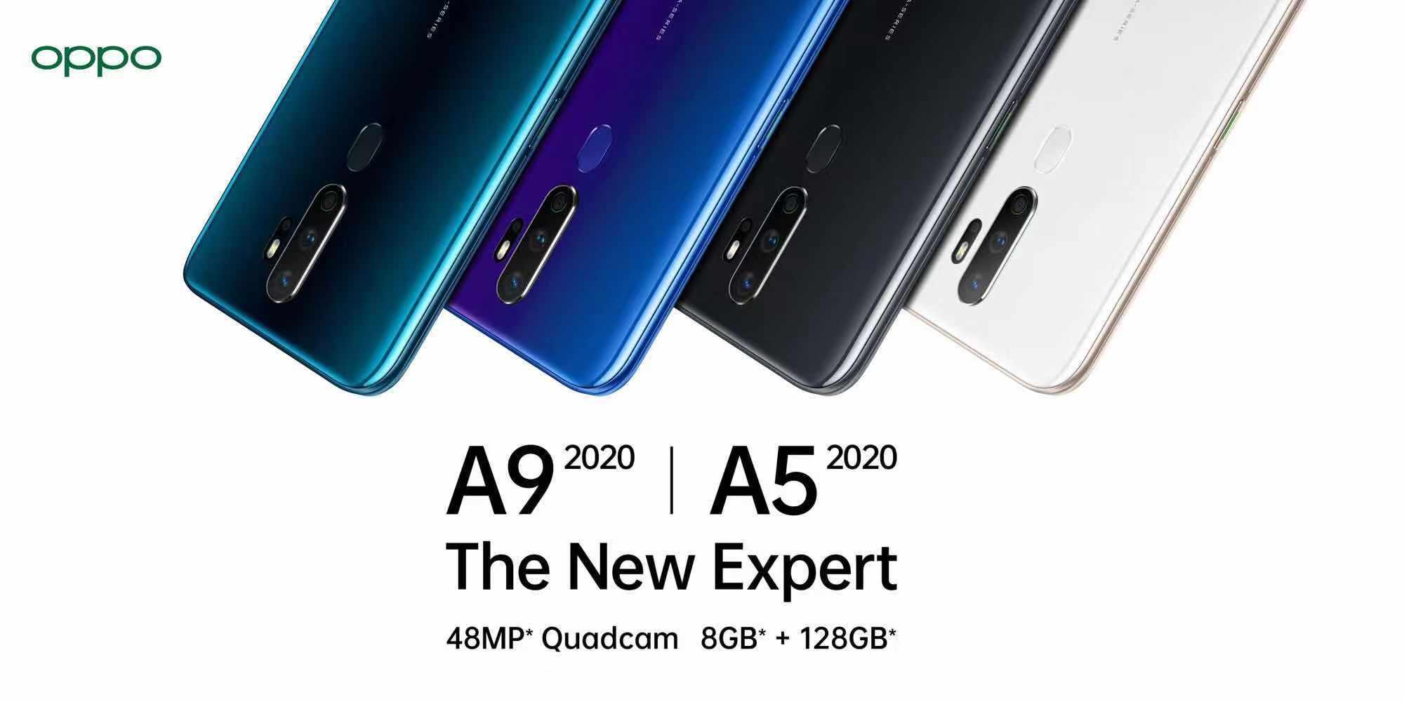 OPPO A9 y A5 presentados oficialmente en la India