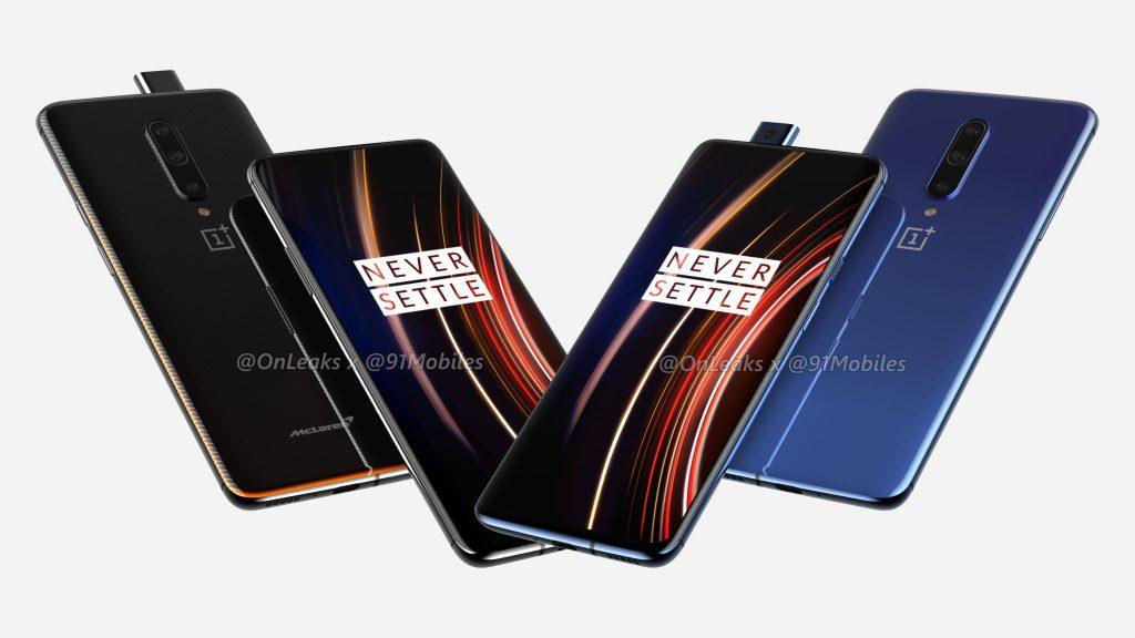 OnePlus 7T Pro McLaren Edition y OnePlus 7T Pro se filtran