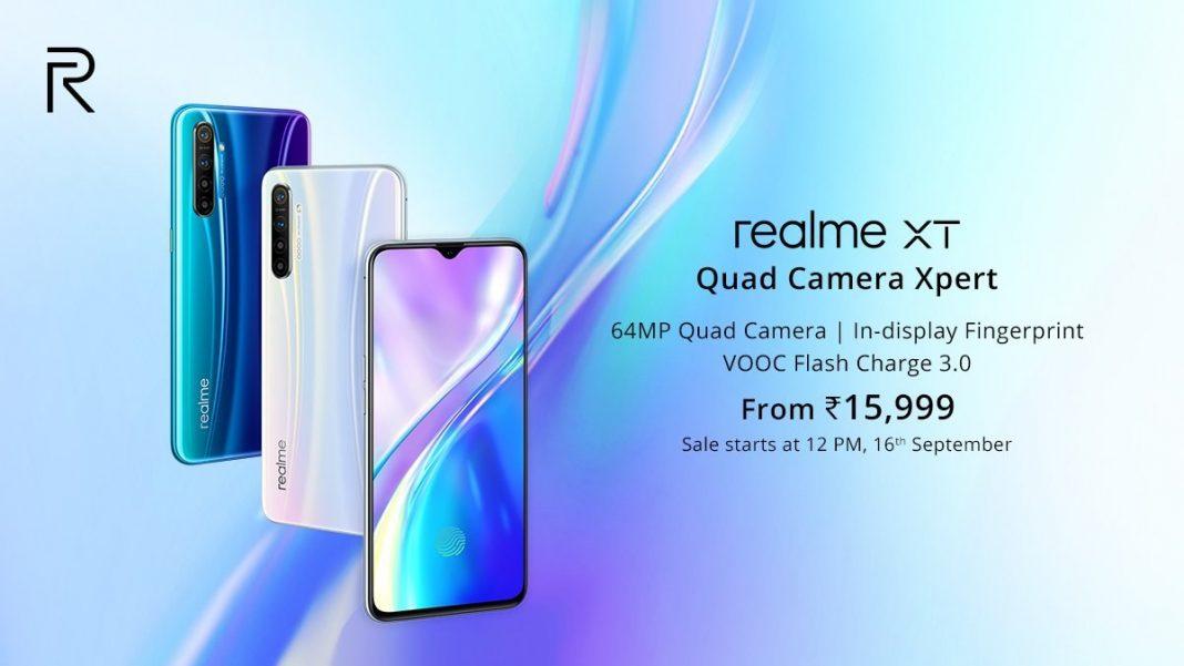 Realme XT con 4 cámaras lanzado a un gran precio