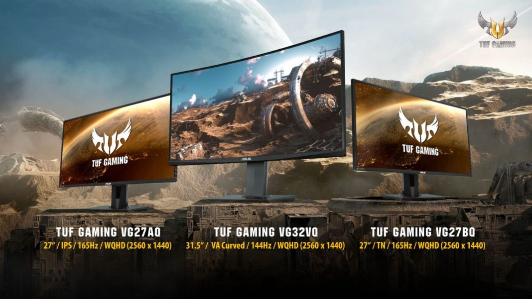 TUF Gaming VG32VQ, VG27AQ y VG27BQ: 1ms y sincronización adaptativa