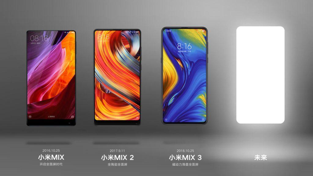 Xiaomi Mi MIX 4 Lo que sabemos hasta ahora