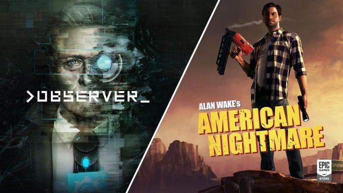 Alan Wake American Nightmare y Observer_ GRATIS