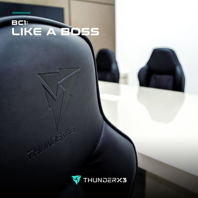 BC1 Boss, la nueva silla gaming de ThunderX3
