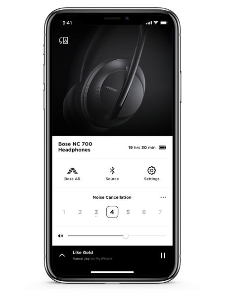 Bose Noise Cancelling Headphones 700 app