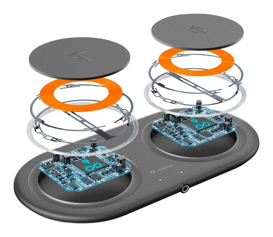 Cargadores de batería con tecnología Qi y carga rápida