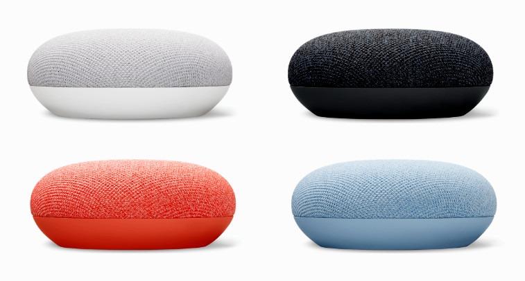 Google Nest Mini, con graves mejorados y diseño familiar