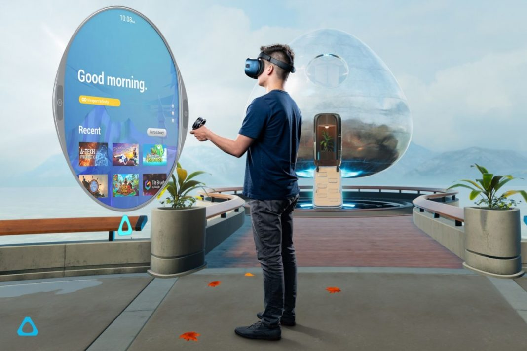HTC Vive Cosmos VR con tasa de refresco de 90Hz