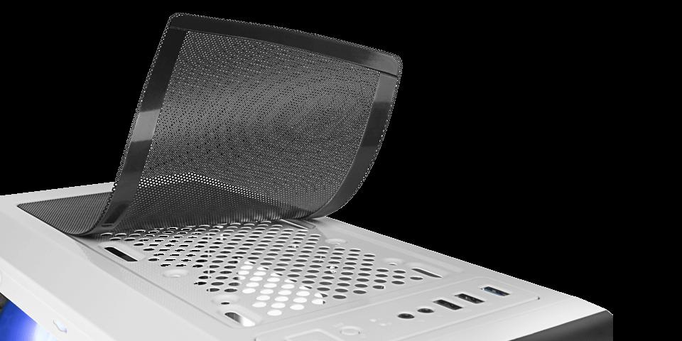 filtros antipolvo magnéticos