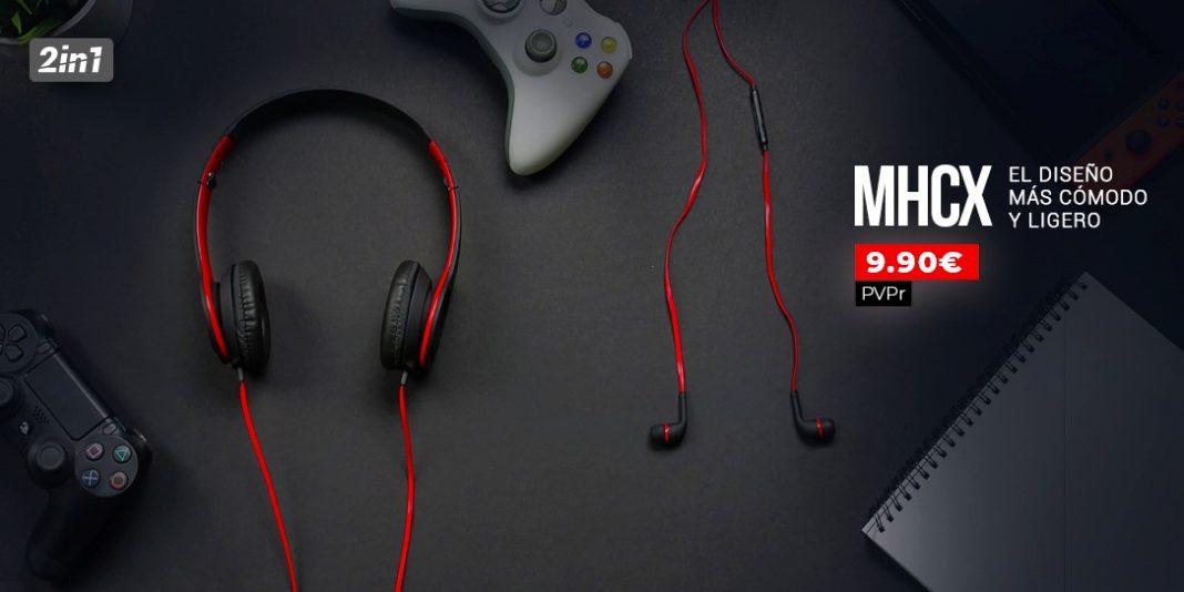 Nuevo pack de audio MHCX, ¡el más económico!