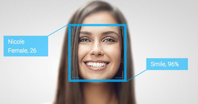 Reconocimiento facial detecta cambios en la expresión