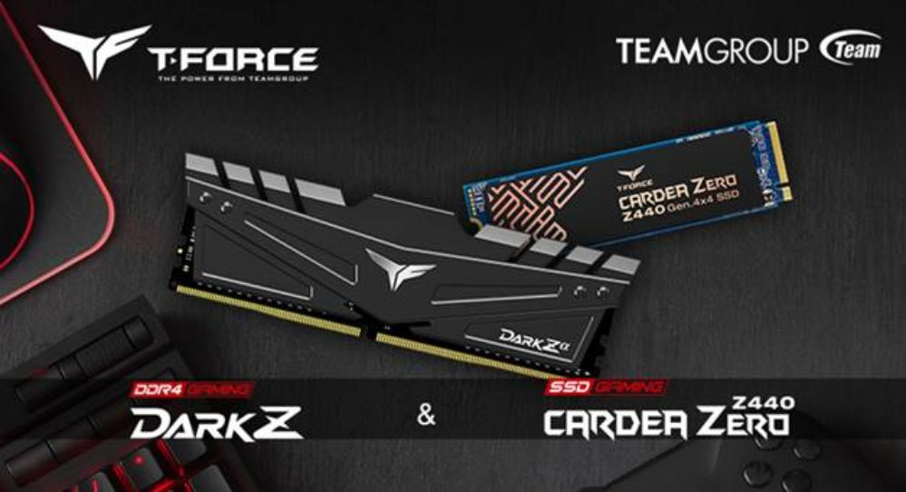 T-FORCE DARK Z y CARDEA ZERO sube el nivel gaming