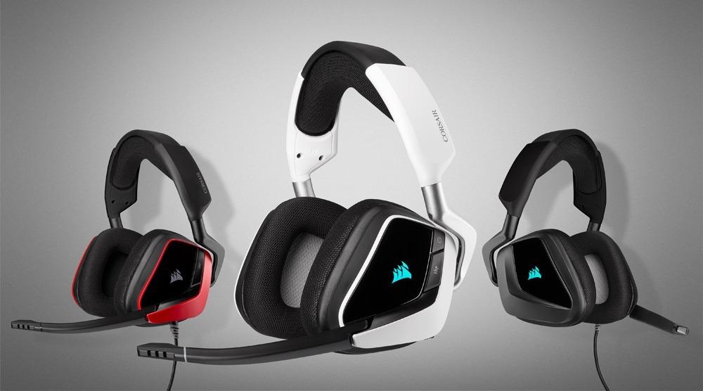 VOID ELITE y HS PRO, nuevos auriculares premium de Corsair