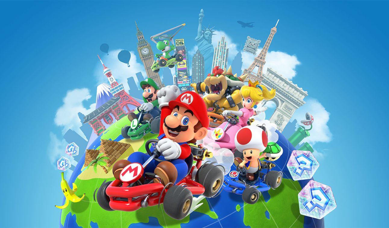 Mario Kart Tour obtuvo 20 millones de descargas el 1er día