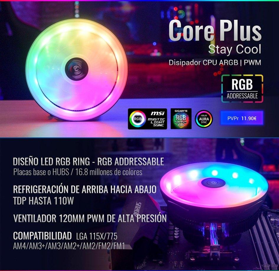 La iluminación más espectacular para tu CPU