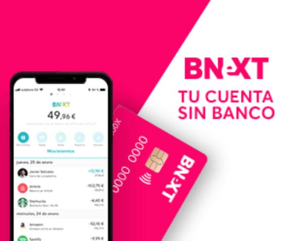 Gana 21€ con Bnext de la manera más sencilla y rápida