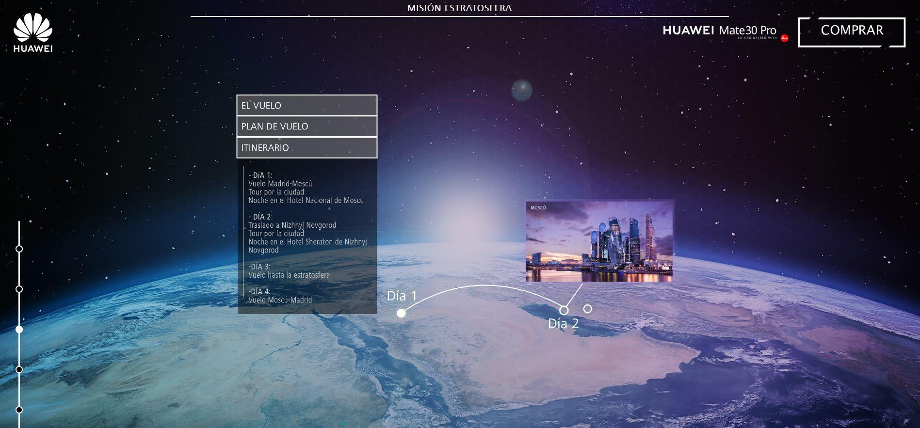 Misión Estratosfera: Huawei regala vuelo en avión de combate supersónico