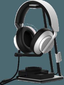 STND – plataforma para cascos - NZXT revela su nueva línea de audio para gamers