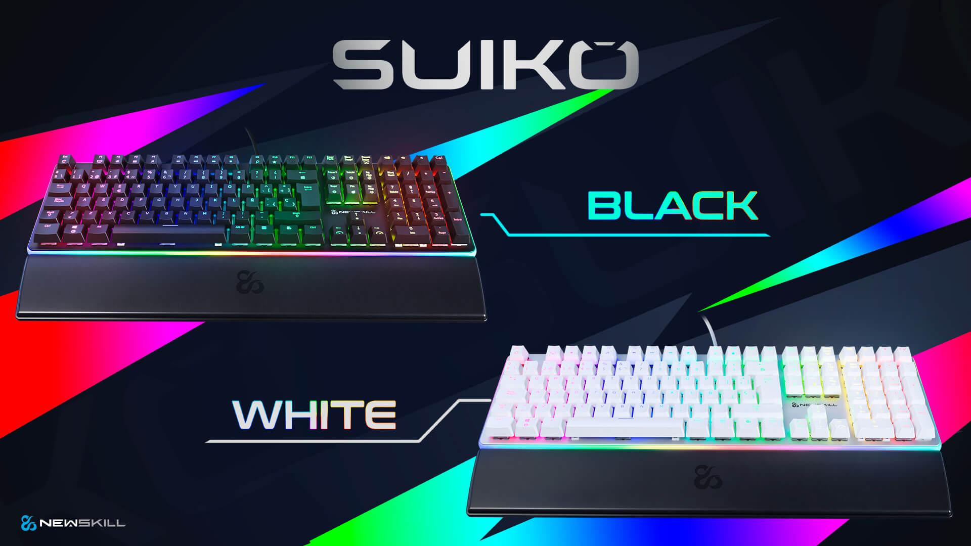 Serike y Serike TKL + Suiko y Suiko Ivory
