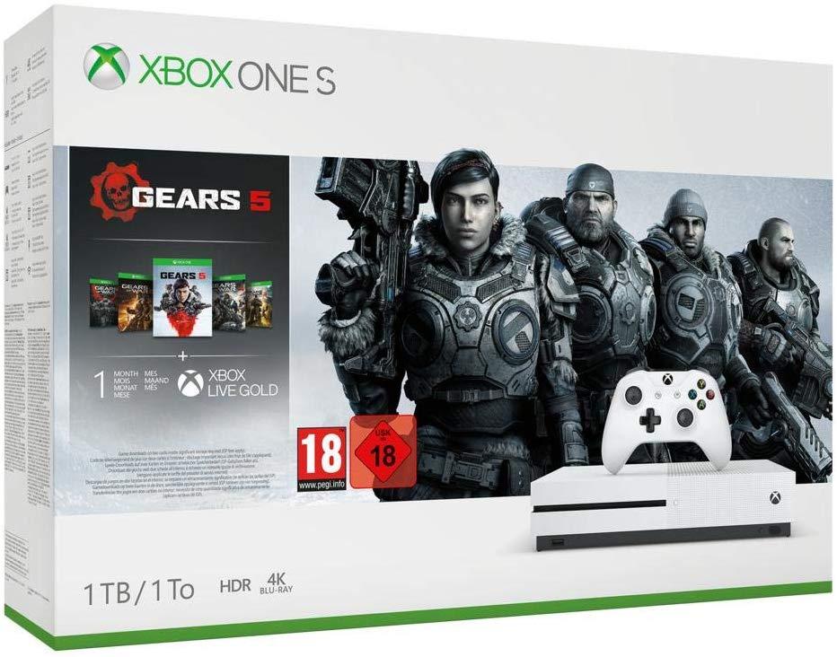Xbox One S de 1TB + Gears 5 con un 36% de descuento