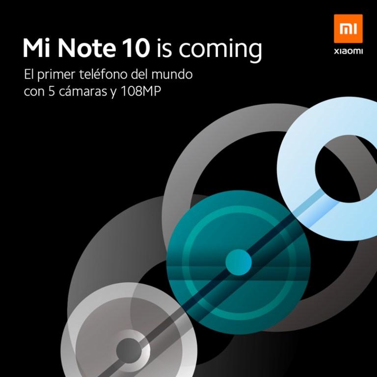 Xiaomi Mi Note 10 en exclusiva y con algún regalo sorpresa