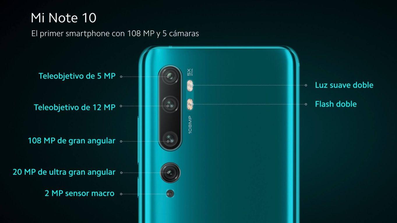 Xiaomi Mi Note 10 y Mi Note 10 Pro lanzados oficialmente