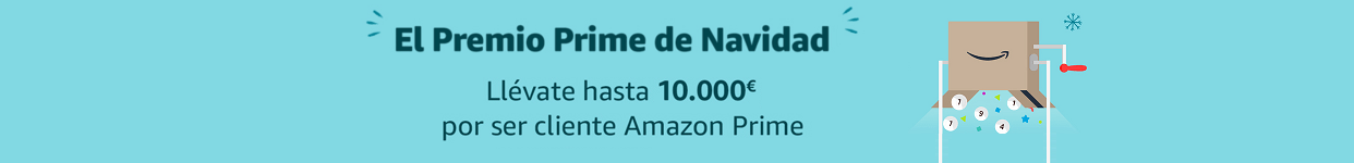 Gana un cheque regalo de hasta 10.000€ con Amazon Prime