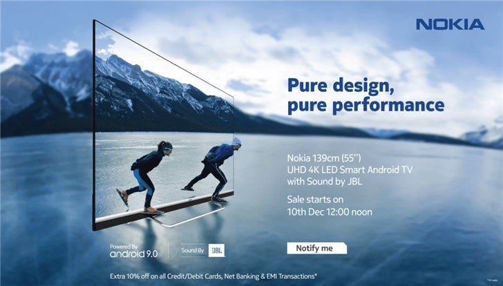 Nokia presenta una TV de 55 pulgadas 4K increíble