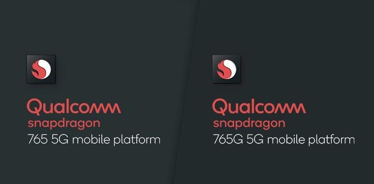 Qualcomm Snapdragon 865, 765 y 765G 5G Los procesadores del 2020